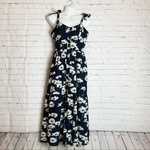 URBAN OUTFITTERS Positano Tie-Shoulder Dress
